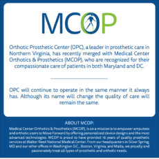 MCOP & OPC's Merger: The Perfect Prosthetic Pairing