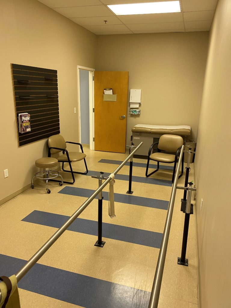 A prosthetic patient room in the Greenville, SC prosthetic clinic